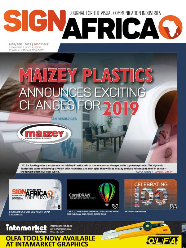 Sign Africa Journal March/ April 2019
