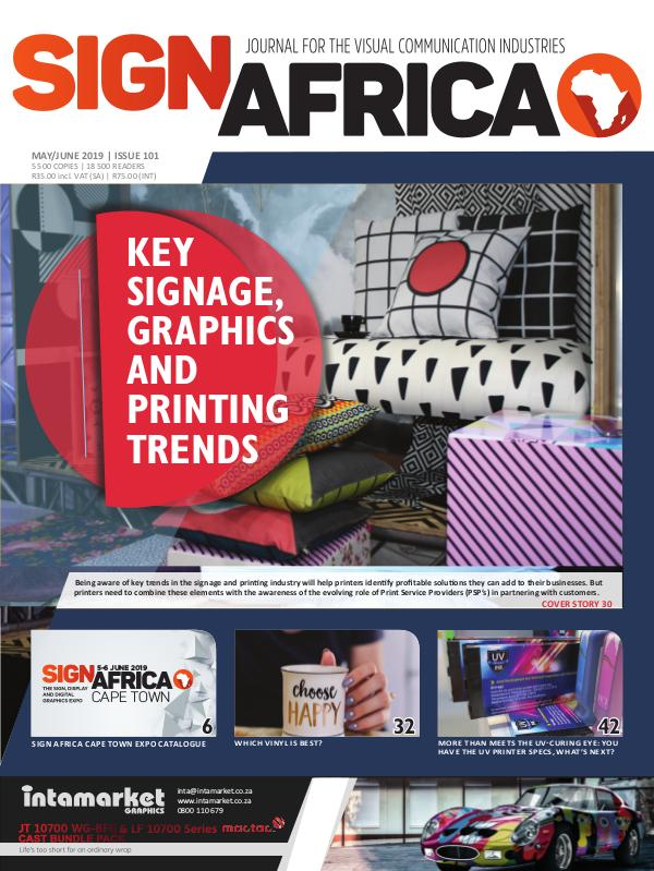 Sign Africa Journal May / June 2019