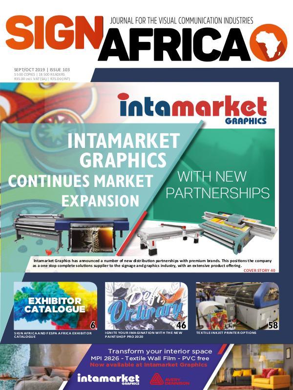 Sign Africa Journal September / October 2019