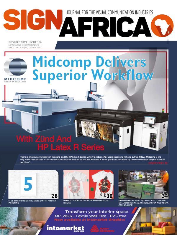Sign Africa Journal November / December 2019