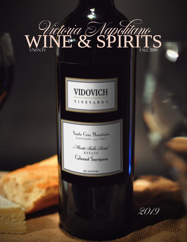 Victoria Napolitano Wine & Spirits FALL 2019