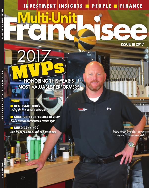 Multi-Unit Franchisee Magazine Issue III, 2017