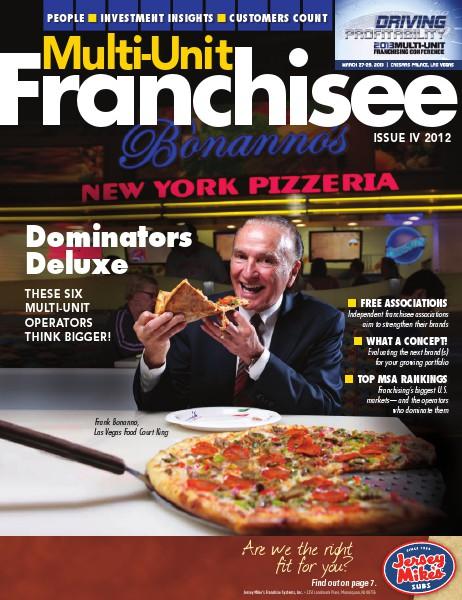 Multi-Unit Franchisee Magazine Issue IV, 2012