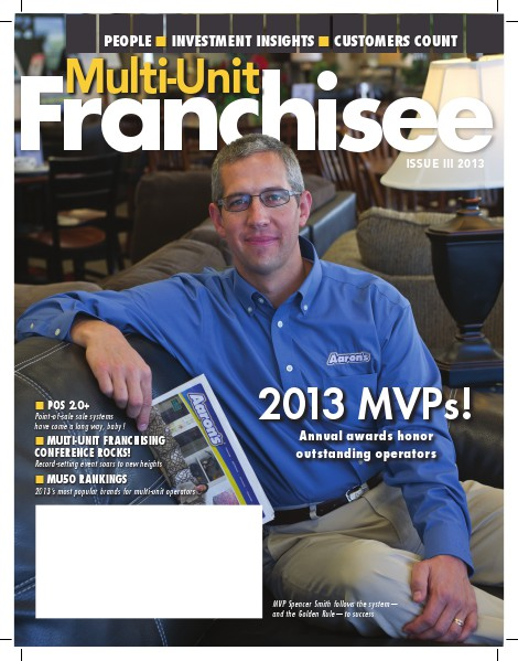 Multi-Unit Franchisee Magazine Issue III, 2013