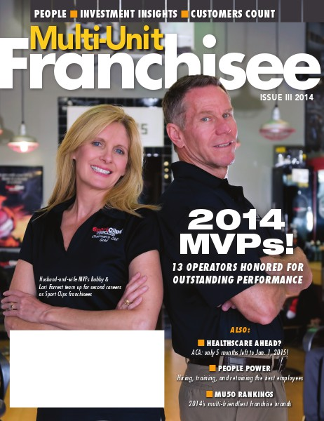 Multi-Unit Franchisee Magazine Issue III, 2014
