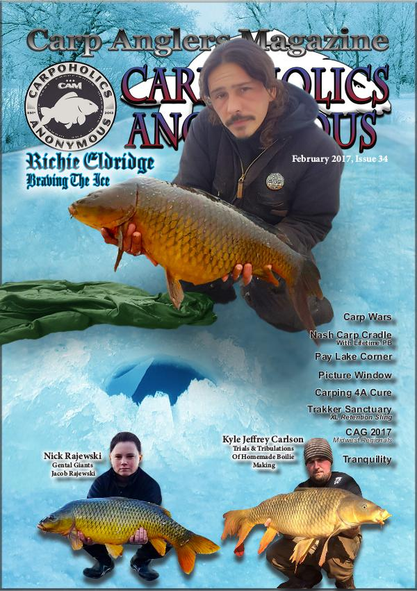 Carp Angler Magazine CAM, Carpoholic Anonymous Issue 35, March 2017