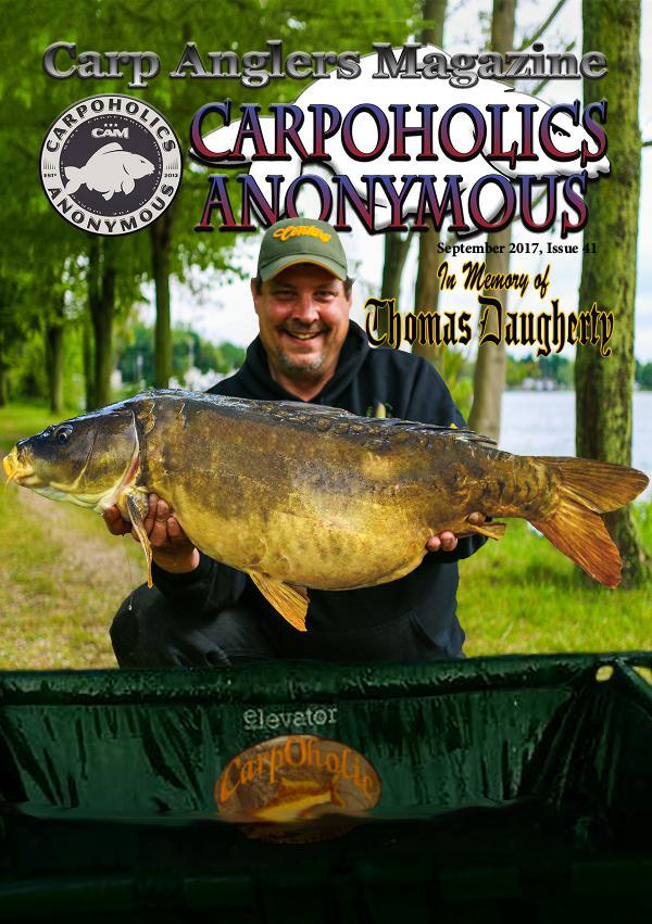 Carp Angler Magazine CAM, Carpoholic Anonymous Issue 41,September 2017