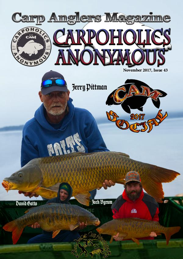Carp Angler Magazine CAM, Carpoholic Anonymous Issue 43, November 2017