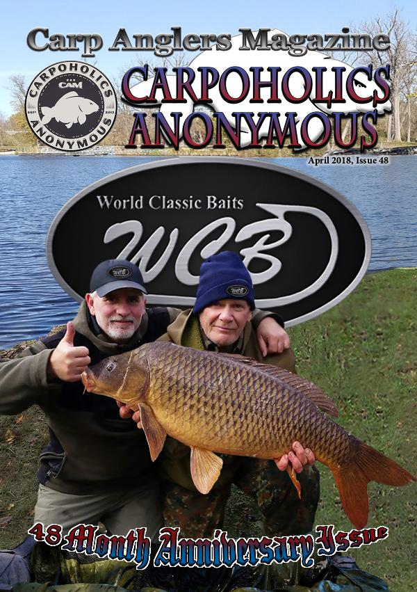 Carp Angler Magazine CAM, Carpoholic Anonymous Issue 48, April 2018