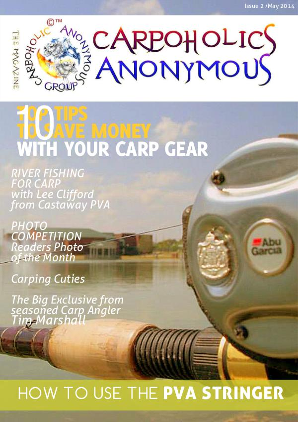 Carp Angler Magazine CAM, Carpoholic Anonymous Issue 2 May 2014