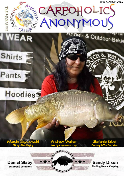 Carp Angler Magazine CAM, Carpoholic Anonymous Issue 5, August 2014
