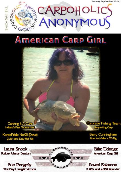 Carp Angler Magazine CAM, Carpoholic Anonymous Issue 6, September 2014
