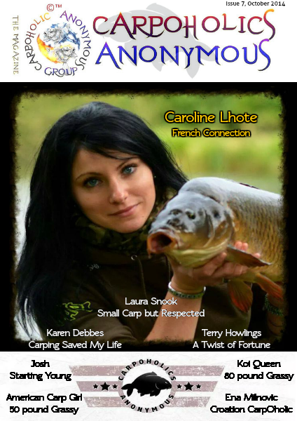 Carp Angler Magazine CAM, Carpoholic Anonymous Issue 7, October 2014