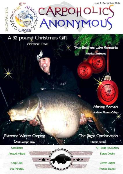 Carp Angler Magazine CAM, Carpoholic Anonymous Issue 9, December 2014
