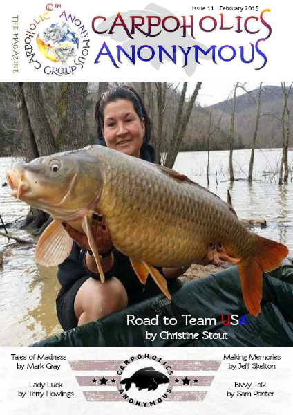 Carp Angler Magazine CAM, Carpoholic Anonymous Issue 11, February 2015