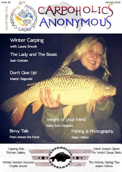 Carp Angler Magazine CAM, Carpoholic Anonymous Issue 10, January 2015