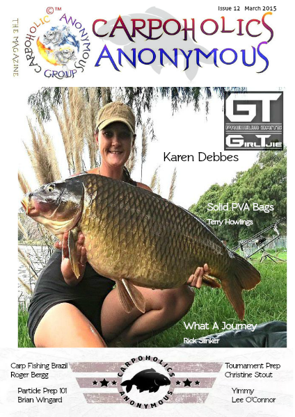 Carp Angler Magazine CAM, Carpoholic Anonymous Issue 12, March 2015