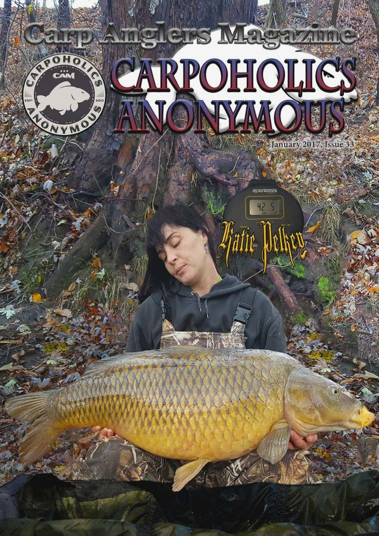 Carp Angler Magazine CAM, Carpoholic Anonymous Issue 33, January 2017