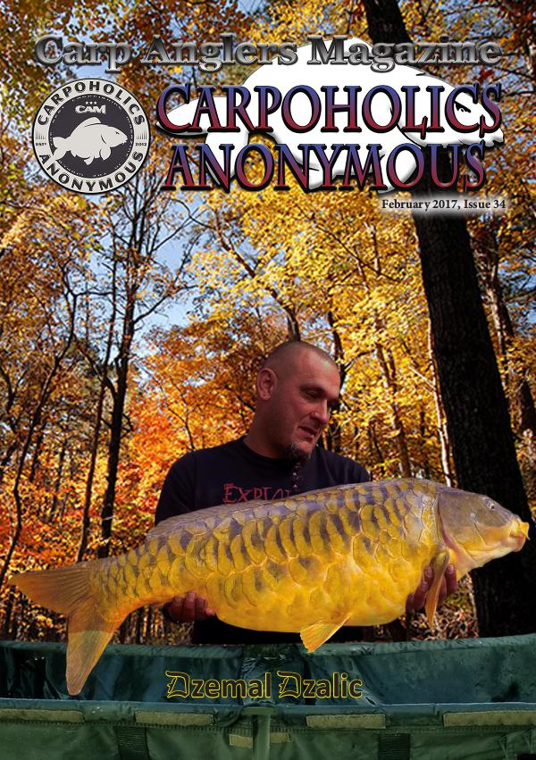 Carp Angler Magazine CAM, Carpoholic Anonymous Issue 34, February 2017