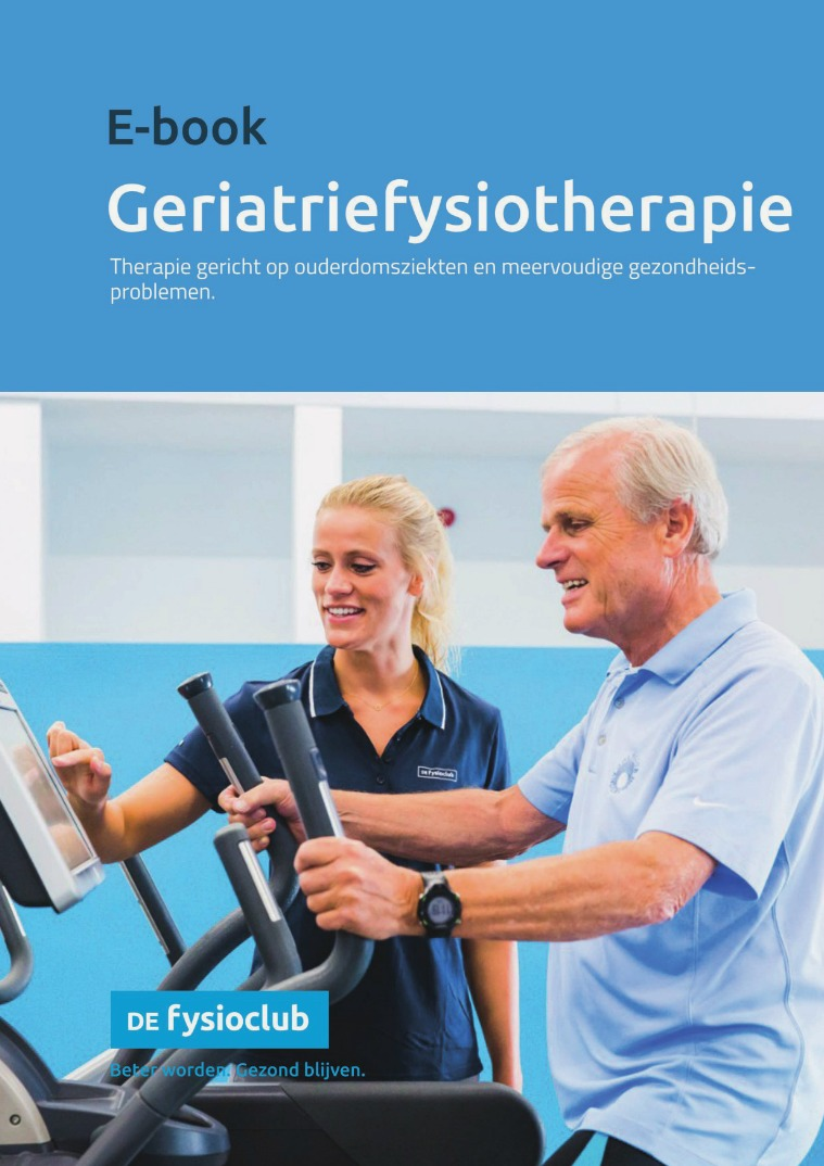 E-book Geriatriefysiotherapie
