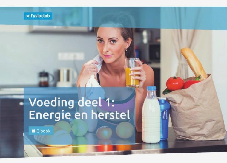 Voeding deel 1: Energie en herstel