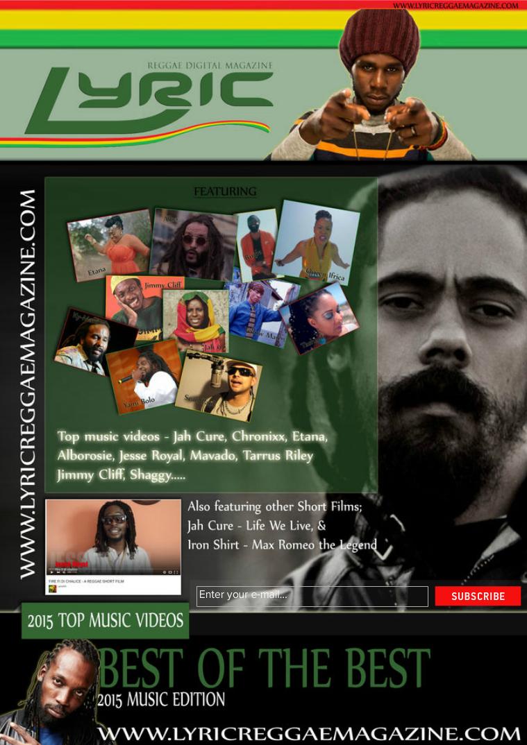 Lyric Digital Reggae Magazine Best Of The Best