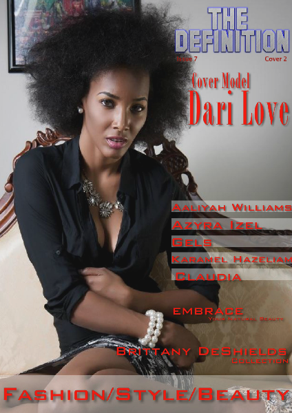 The Definition Issue 7 Fashion/Style/Beauty- cover 2