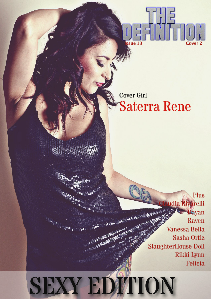 The Definition Issue 13: 2x Sexy cover 2