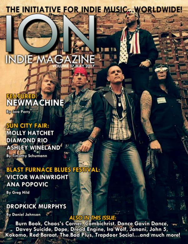ION INDIE MAGAZINE May 2017, Volume 36