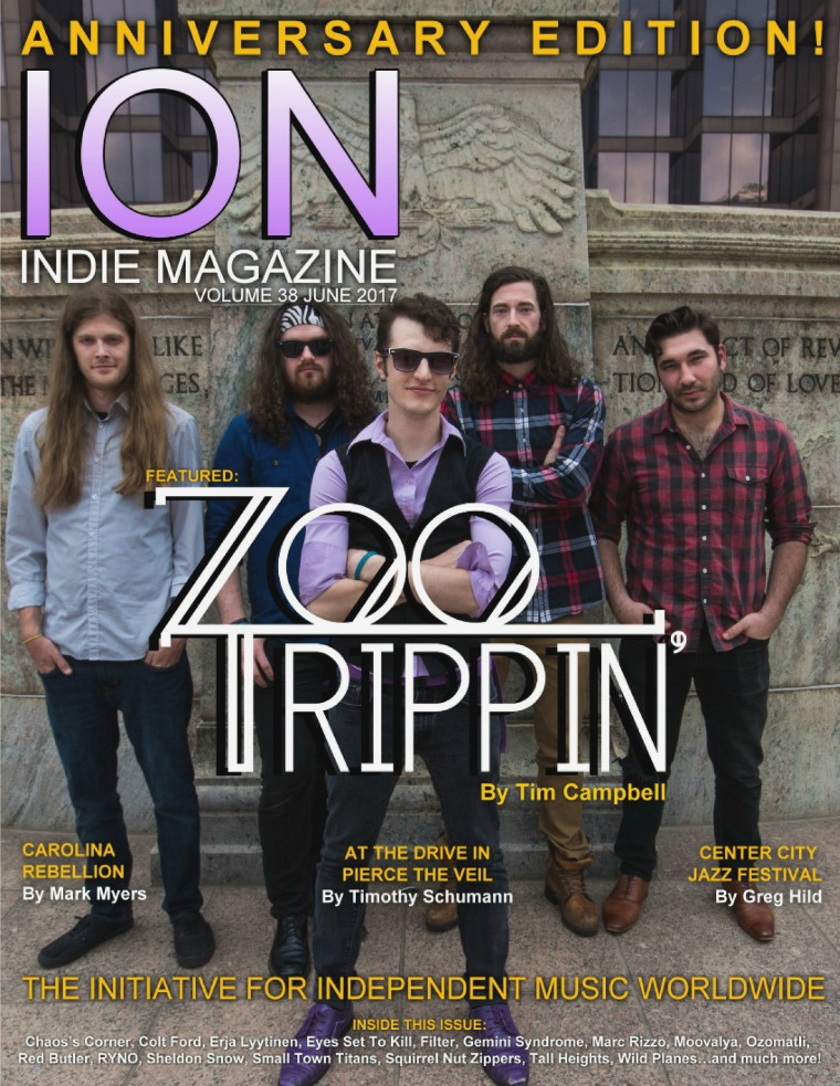 ION INDIE MAGAZINE June 2017, Volume 37