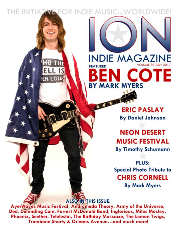 ION INDIE MAGAZINE July 2017, Volume 38
