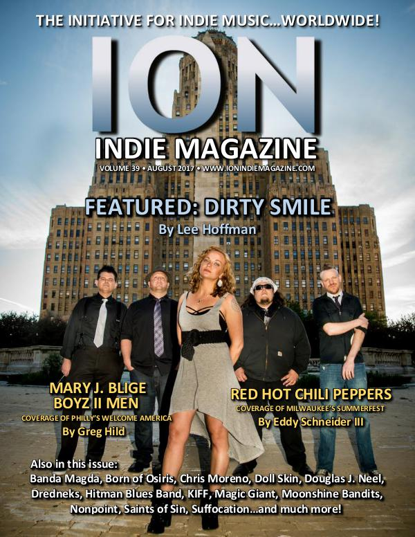 ION INDIE MAGAZINE August 2017, Volume 39