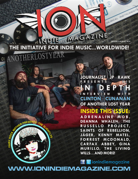 ION INDIE MAGAZINE August 2014, Volume 3