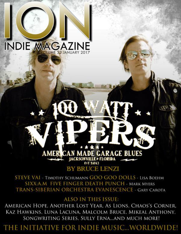 ION INDIE MAGAZINE January 2017, Volume 32