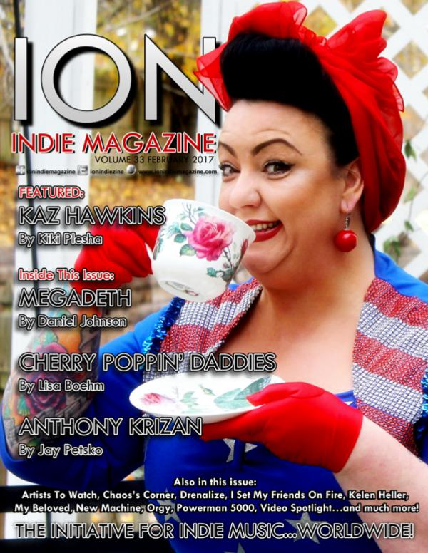 ION INDIE MAGAZINE February 2017, Volume 33