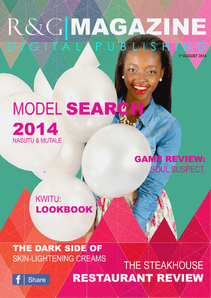 EDITION #1 - AUGUST 2014