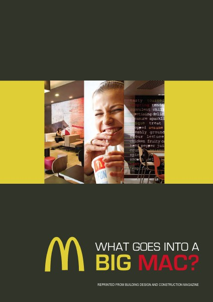 What Goes into a Big Mac article - BDC Magazine