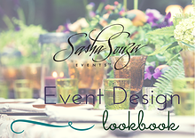 Sasha Souza Events - 2015 Lookbook