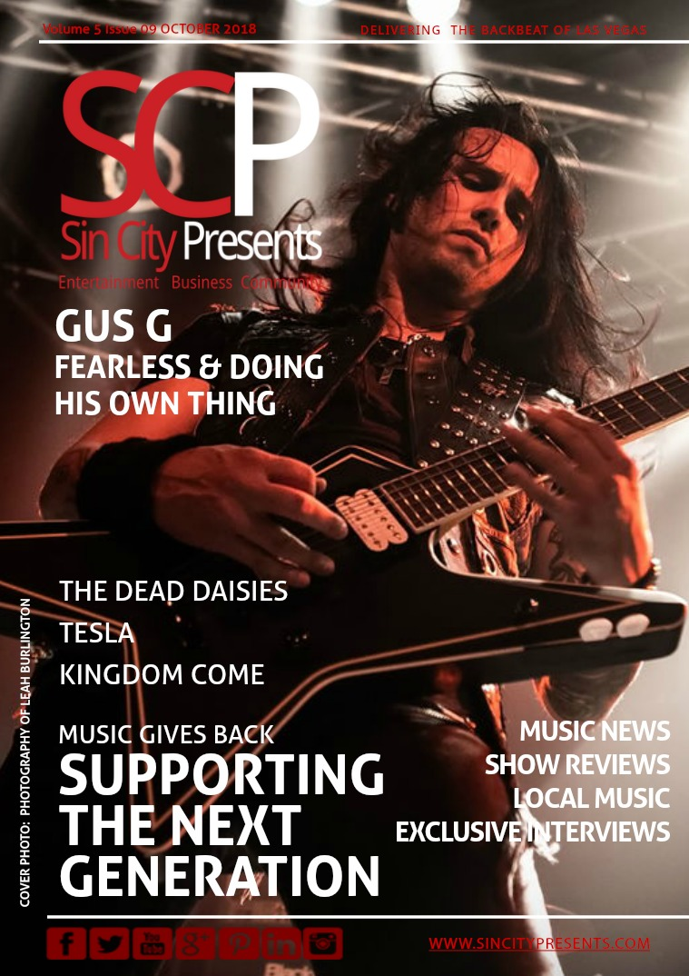 Sin City Presents Magazine October 2018 Volume 5 Issue 09