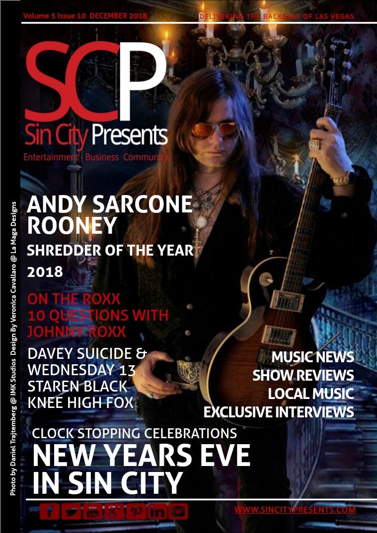 Sin City Presents Magazine December 2018 Volume 5 Issue 11