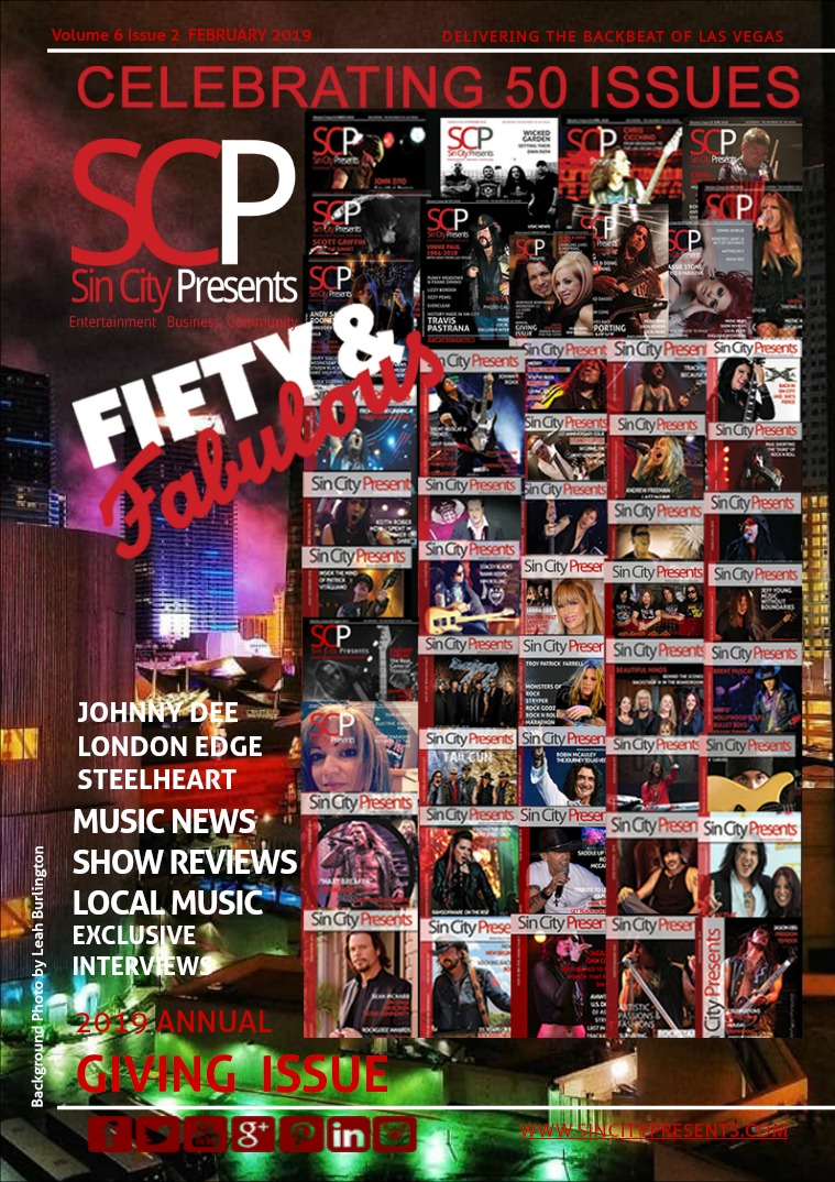 Sin City Presents Magazine February 2019 Volume 6 Issue 2
