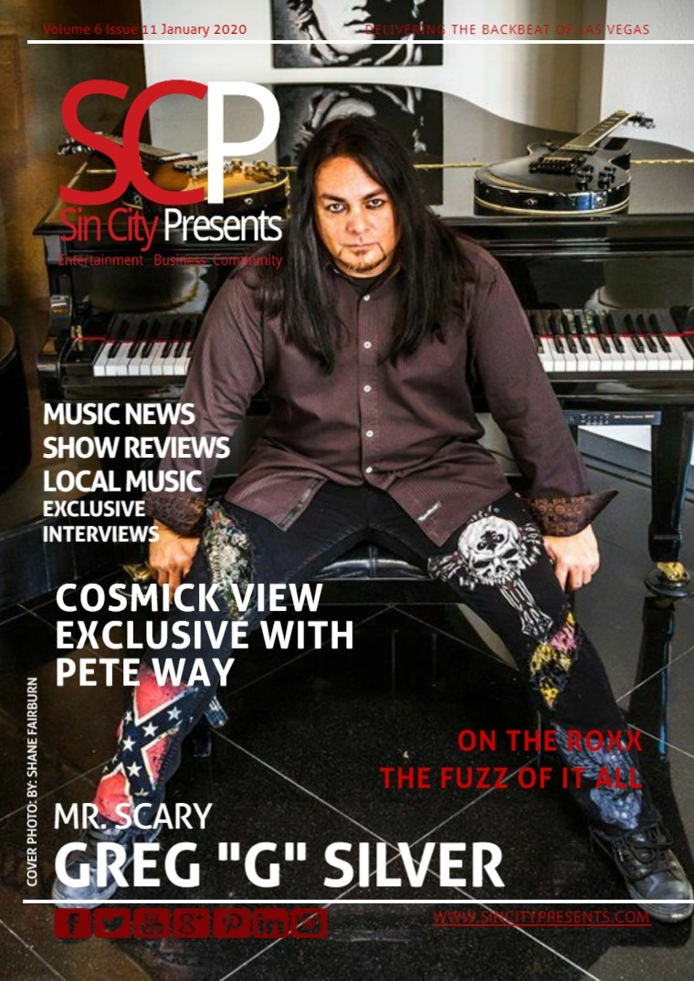 Sin City Presents Magazine January 2020 Volume 7 Issue 1