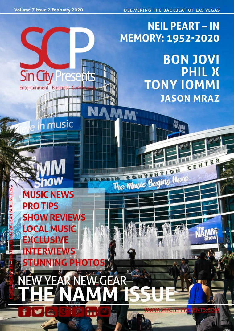 Sin City Presents Magazine February 2020 Volume 7 Issue 2