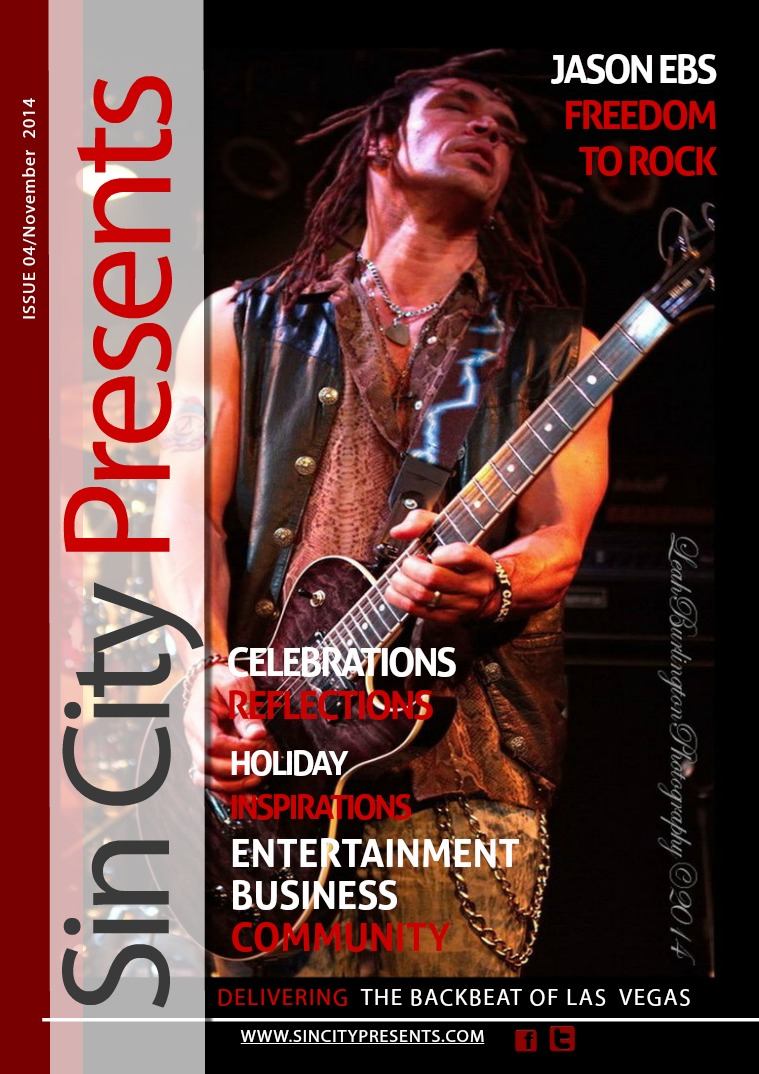 Sin City Presents Magazine November 2014 Volume 1 Issue 4