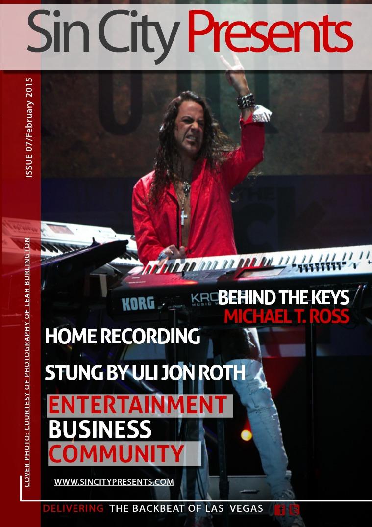 Sin City Presents Magazine February 2015 Volume 2 Issue 2