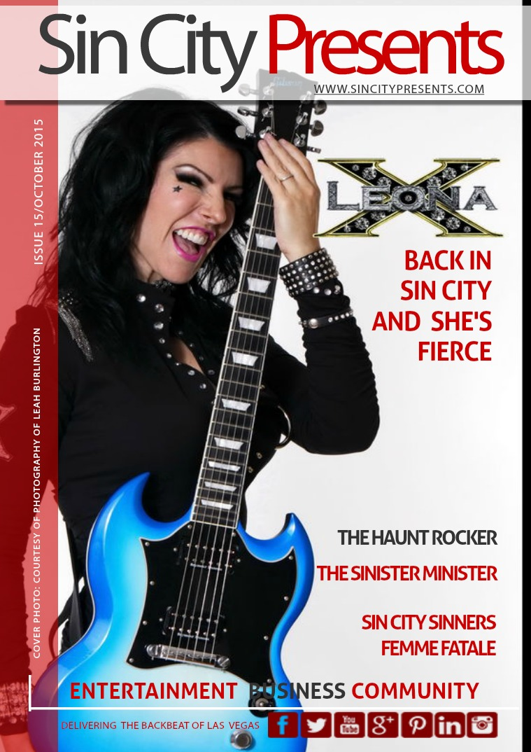 Sin City Presents Magazine October 2015 Volume 2 Issue 10