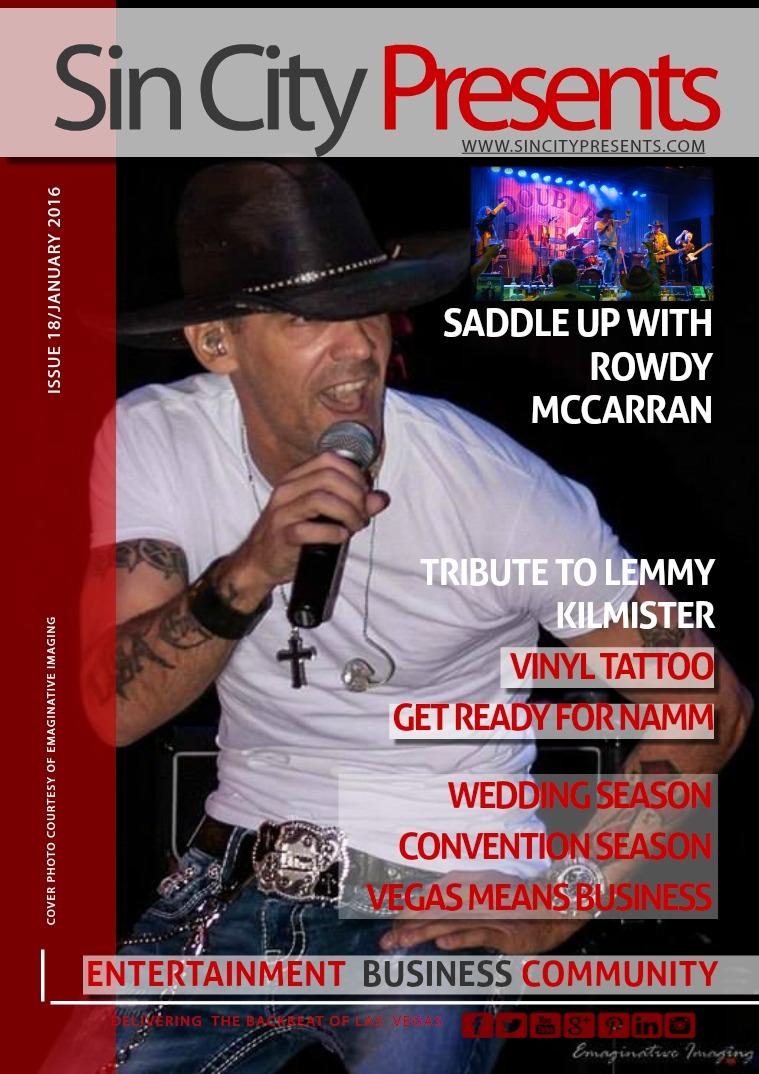 Sin City Presents Magazine January 2016 Volume 3 Issue 1