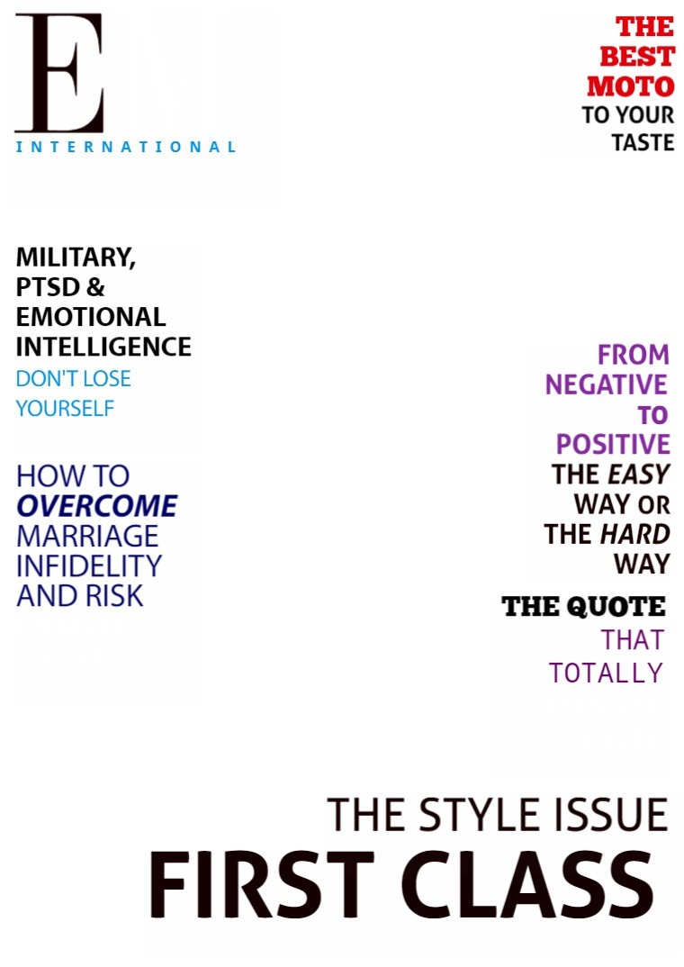 EMAGE Magazine® International The Deluxe Version