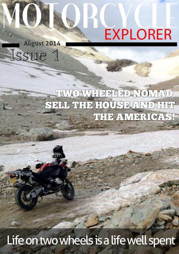 Motorcycle Explorer August 2014 Issue 1
