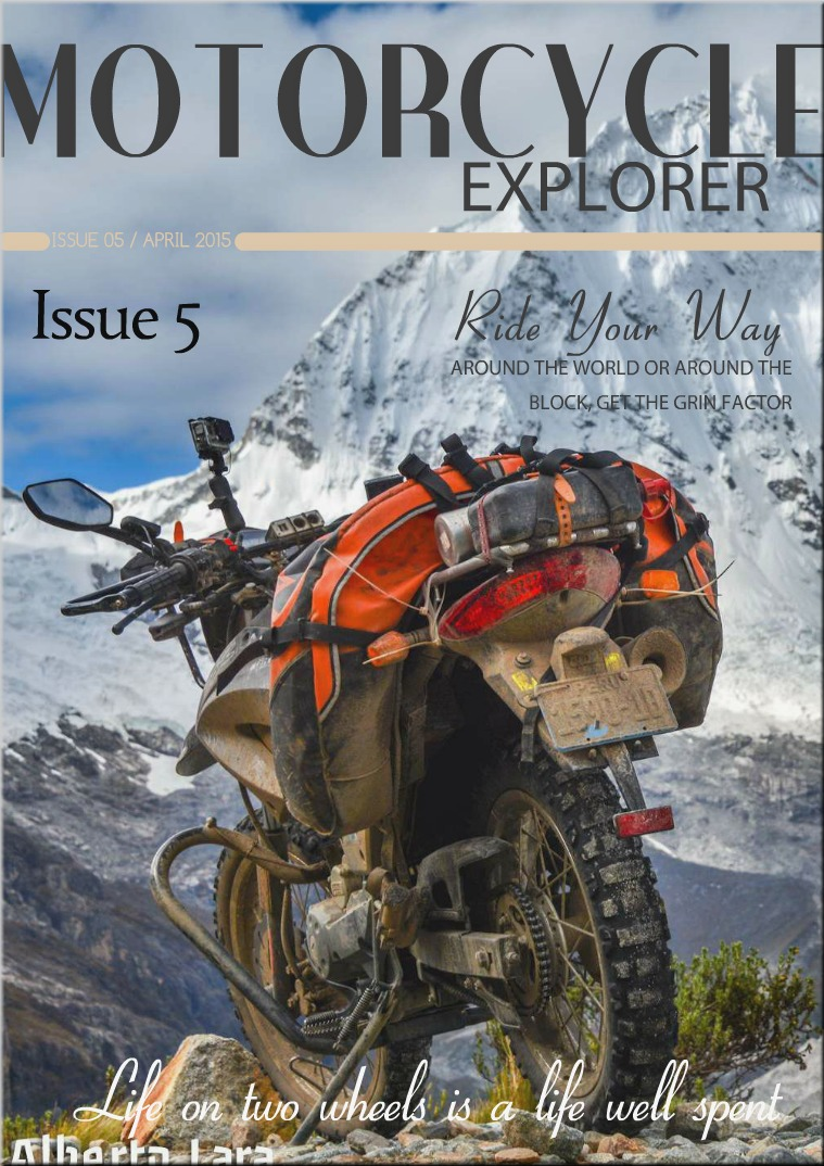 Motorcycle Explorer April 2015 Issue 5